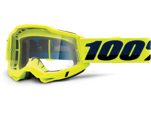 100% Accuri OTG Goggles Gen2, żółty